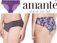 Flat 87% off : Amante Low Waist Bikini Brief at Rs.121