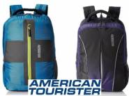 American Tourister Backpack at 70% off + 10% Coupon & Cashback Extra