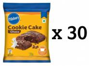 Pillsbury Cookie Cake, Chocolate, 23g (Pack Of 30) at Rs. 170