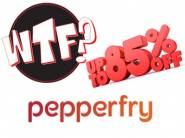 Deals Added:- Pepperfry WTF Deals with Cracking Discount + Free Shipping