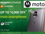 Moto Fest : Upto Rs.4000 off on Moto Smartphones