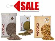 Steal Deal :- Vedaka Grocery at 50-60% Off !! Limited Stocks !!