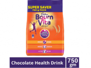 Cadbury Bournvita Chocolate Health Drink, 750 gm Pouch at Rs.185