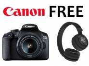 FREE Nu Republic Headphone with Canon EOS 1500D DSLR at Rs. 21490