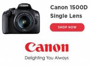 Lowest Ever:- Canon EOS 1500D Digital SLR Camera at Rs. 17990