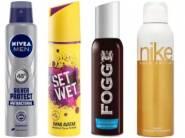 Get Upto 40% OFF On Deodorant & Perfume + Extra 10% Cashback
