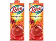 Pay Via UPI:- Real Fruit, Pomegranate, 1L (Pack of 2) at Rs. 161