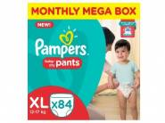 Pampers Pants Diapers Monthly Mega Box - XL (84 Pieces)