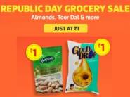Republic Day Special:- Grocery Products at Rs. 1 [ Shop for Rs. 600, Location Wise ]