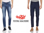Big Discount - Flying Machine Jeans 70-80% Off From Rs. 504