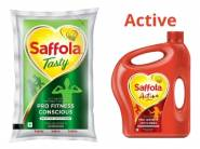 Saffola Oils up to 40% Off + 10% Coupon + Extra 20% Off + 10% Cashback