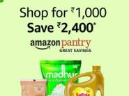 Live Now - Shop For Rs. 1000 & Get Rs. 2400 Cashback On Pantry [Prime Day Special]