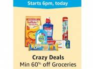 LOOT LIVE - Minimum 60% Off On Groceries [Add To Cart & Checkout]