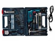 Bosch GSB 500W 500 RE Tool Set (Blue) at Just Rs.2519 [Via HDFC]