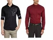 Big Discount - Flat 75% Off On V Dot by Van Heusen Casual Shirt