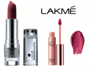 Get Minimum 40% OFF On Lakme Lipsticks