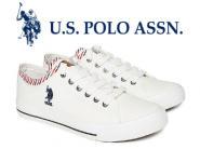 U.S. POLO ASSN. Canvas Sneakers at Flat 550 Cashback