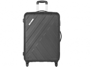 Safari Polycarbonate 56 Ltrs Black Hardsided At Flat 73% Off