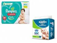 Baby Care At 30% - 60%f On [ Diapers, Lotions, Soaps & More ]