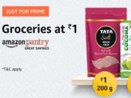 Live Now - Pantry Products at Just Rs.1 [ List Added Inside ]