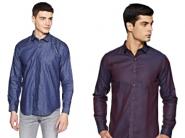 Big Discount - V Dot By Van Heusan Shirts at 75-80% Off [Nice Collection]