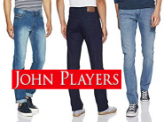John Players Jeans Minimum 60% Off Starts At Rs.449 + Free Shipping