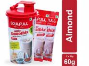 Free Shaker: Soulfull Millet Smoothix 2 Single Serve Sachets at Rs.60