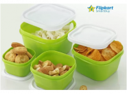 Upto 79% Off: Flipkart SmartBuy Kitchen Container From Rs.199