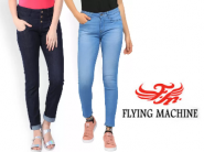 flying machine women jeans at Flat 50% OFF + FREE SHIPPING