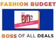 Selling Fast:- Flat 80% Off on All Products + Extra 10% Via SBI Cards