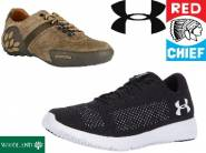 Redchief, Woodland, Under Armour Footwear From Just Rs. 898