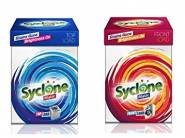 PRICE DOWN:- Syclone Detergent Powders 2 kg at Rs. 199