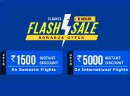 Flash Sale:- Rs. 1500 Off on Domestic Flights/ Rs. 5000 on Int. Flights