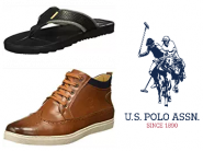 Big Discount: US Polo Association Footwear at Min. 70% OFF