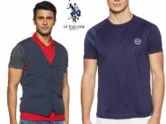 Min. 70% OFF on U.S.POLO Mens Clothing From Rs.343