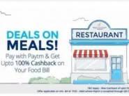 FREE Deals On Meals, Get Up to Rs.5000 Cashback [ Top Stores Inside ]