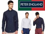 Min. 70% OFF on Peter England Shirts From Rs.299 + Free Shipping