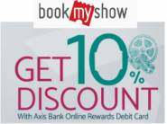 Get Upto Rs.100 Off On Movie Ticket With Axis Bank Card