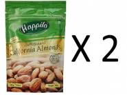 Flat 30% Off: Happilo 100% Californian Almonds 200g (Pack of 2)