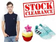 Stock Clearance:- Up to 90% Off on Fashion + 3% FKM Cashback