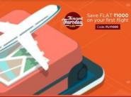 Save Flat Rs.1000 on your First Flight