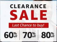 Weekend Sale: 60% - 80% Off on Top Brands [ Fashion, Footwears & More ]