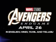 Avengers: End Game - Get Cashback up to Rs.150 + Rs.12 FKM Cashback