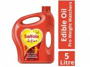 Saffola Active, Pro Weight Edible Oil, Jar, 5 L @ Rs.525