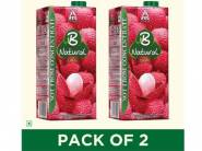 B Natural Mixed Fruit Juice, 1L (Pack of 2) At Rs.139