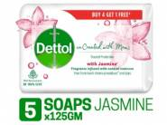 Apply 15% Coupon - Dettol Co-created Soap (Buy 4 Get 1 Free) at Rs. 173