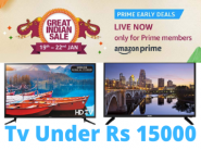 Best Television Deals Under Rs 15,000 + SBI Bank Discount + Exchange Offers