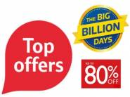 Top Offers Under Big Billions Day At Big Discount + Extra FKM Cashback