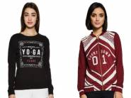 Ajile By Pantaloons Sweatshirt From Rs. 160 + Free Shipping