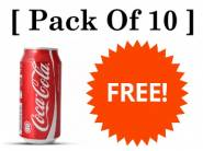 Trick To Get 10 Coke Can FREE + Extra Rs. 85 In Bank Account
